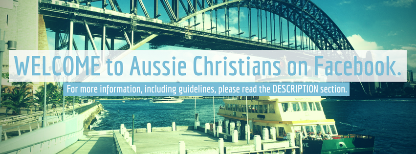 welcome to aussie christians on facebook