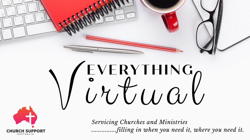 1 1 Virtual Pastoral Assistants Virtual Pastoral Assistants