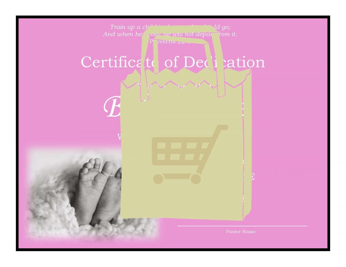 CSA Baby Dedication Certificate Page 3